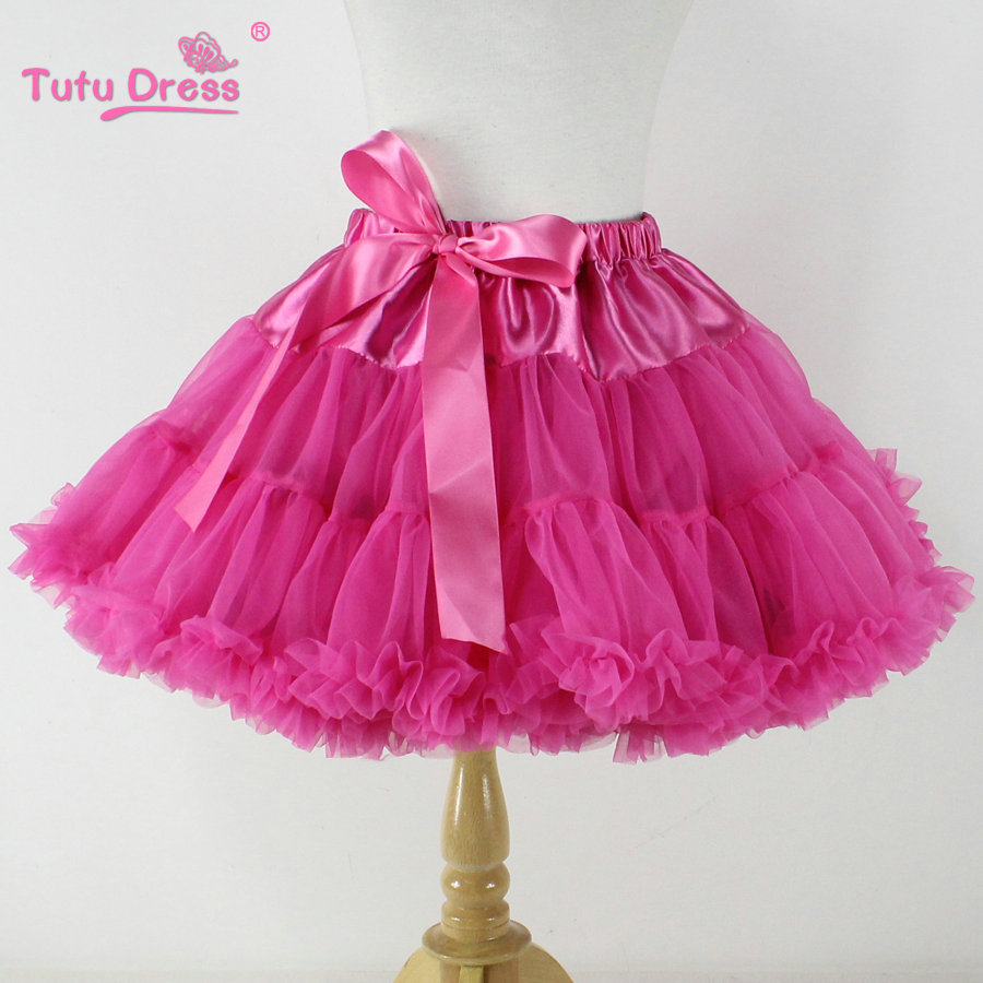 tutu skirts aliexpress.com : buy baby girls chiffon fluffy pettiskirts tutu princess  party skirts ballet dance apjgmji