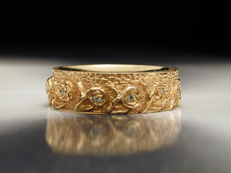 Boho Womens Wedding Rings Unique