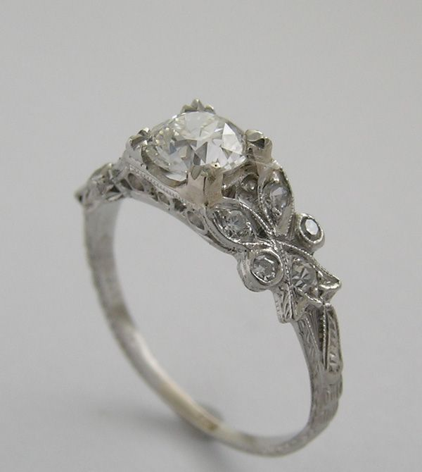 unusual engagement rings unusual engagement diamond ring, side view hatfnbb
