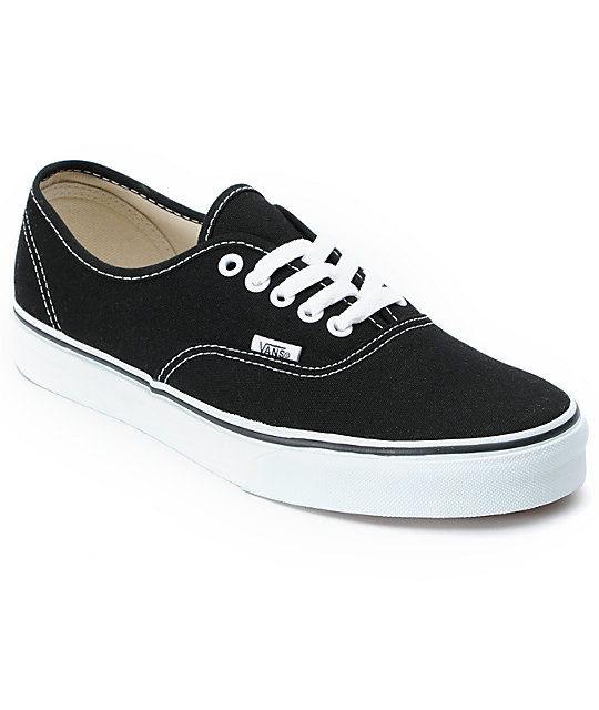 vans shoes vans authentic black and white skate shoes rmuvlxi