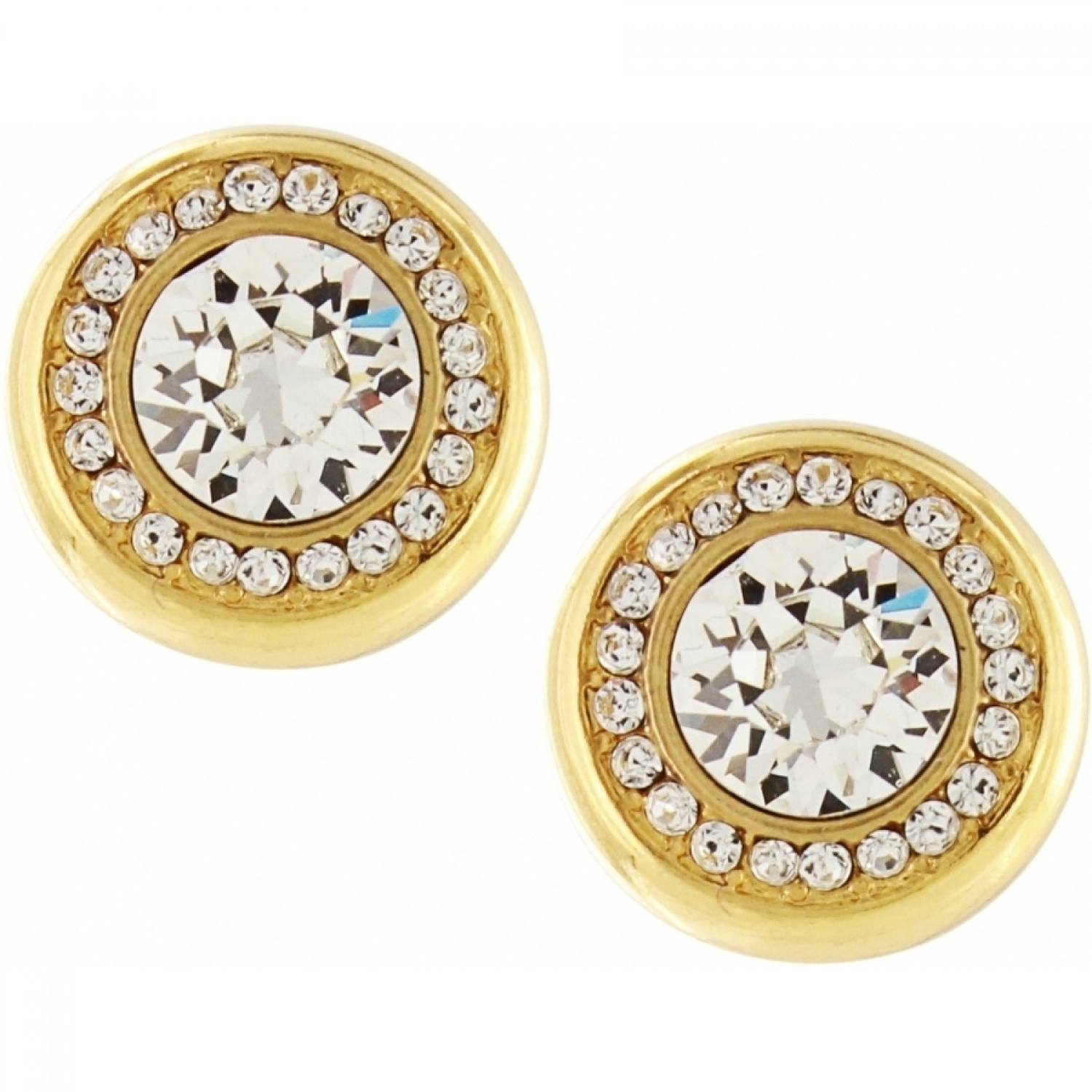 amazon dp round basket com type gold back solitaire set post bxxl stud available white jewelry size screw different earrings with
