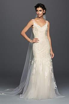 vintage wedding dresses long mermaid/ trumpet vintage wedding dress - melissa sweet aitvczj