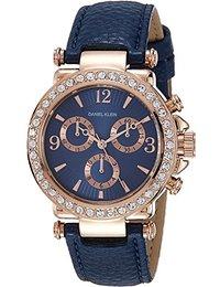 watches for women daniel klein analog blue dial womenu0027s watch - dk10155-2 fcnewhk