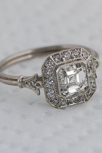 we dare you not to love these 24 vintage engagement rings kjqhaso