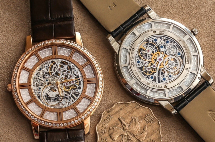 wearing the thinnest mechanical watch in the world: jaeger-lecoultre master  ultra thin squelette ... mjwlfiw