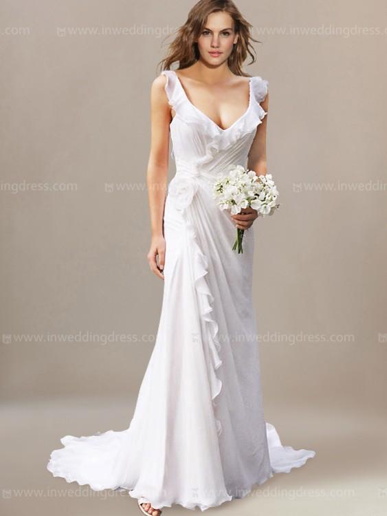 wedding dresses for the beach beach wedding dress ... rxmploc