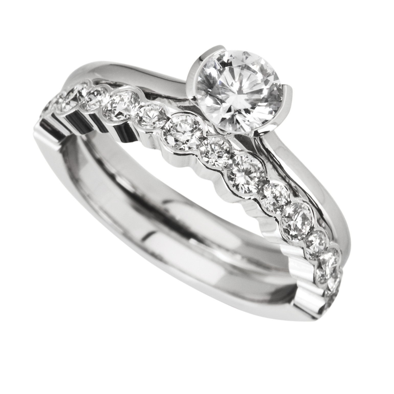 Make Your Wedding Special With Unique Wedding Engagement Rings    StyleSkier.com