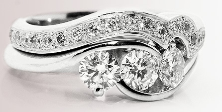 wedding engagement rings shaped wedding ring csoshto