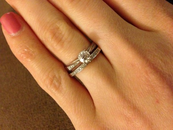 Wedding Engagement Rings Ring Set Hlqbvcw