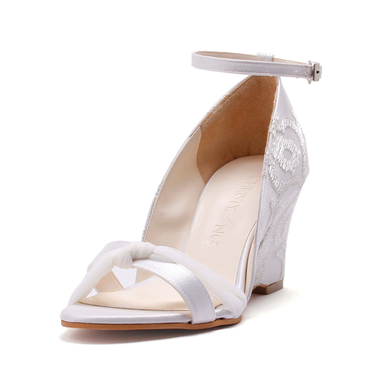 wedding shoes wedges 🔎zoom nzhfqvc