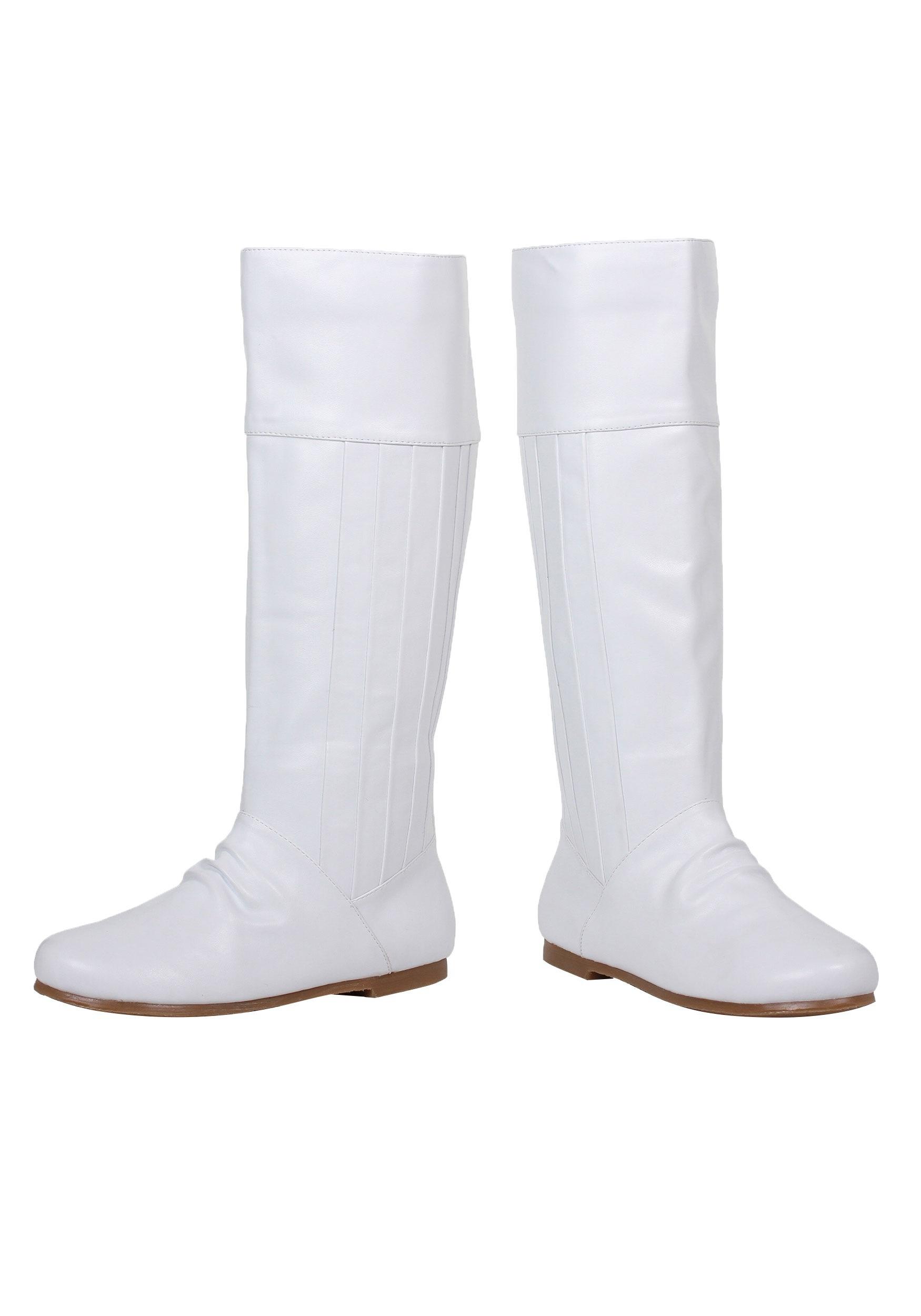 white boots white princess boots eoildpv