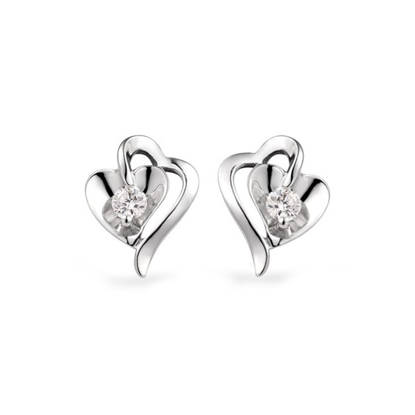 white gold diamond earrings 1 carat diamond earrings xoysyan