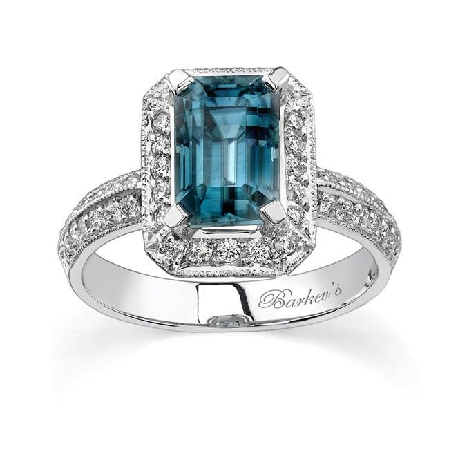 white gold diamond u0026 blue topaz ring - 6274l csiafzy