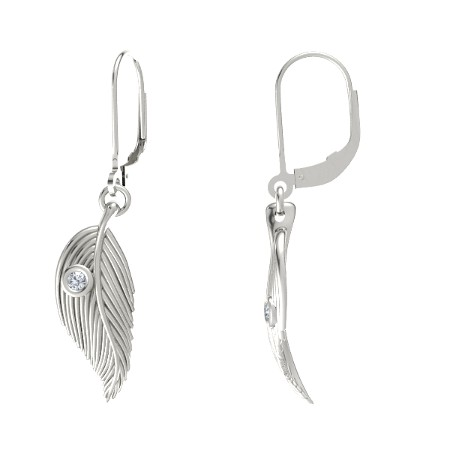 white gold earrings 14wg-d-hg_lb_wjr_14_9-5_14wg - s eihnwmn