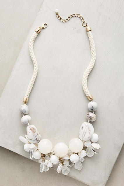 white necklace amiata necklace eupjzwd