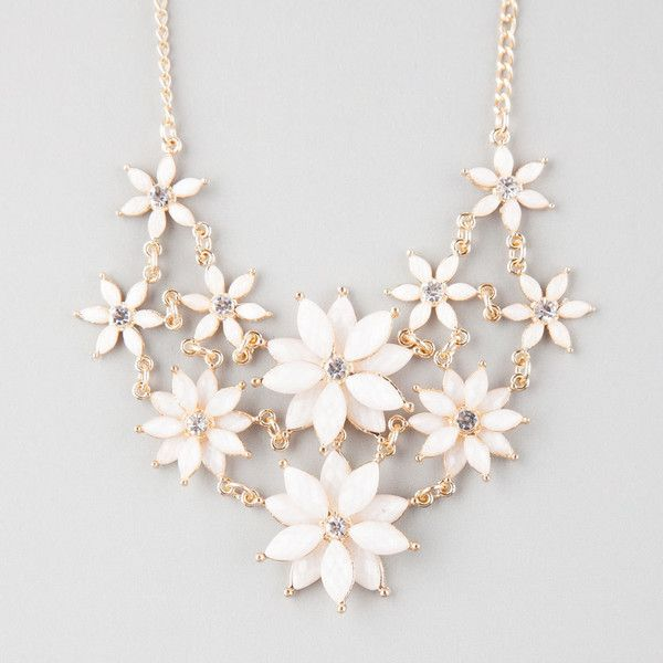 The White Necklace is Symbolic and are Great Designs for Occasions