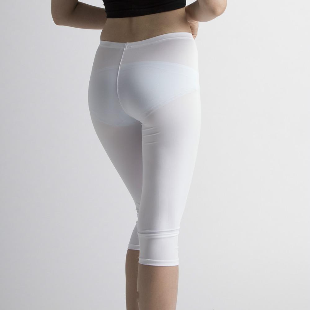 white pants for women sexy hot see through transparent black white capris women long capri pants  trousers hkqiljc