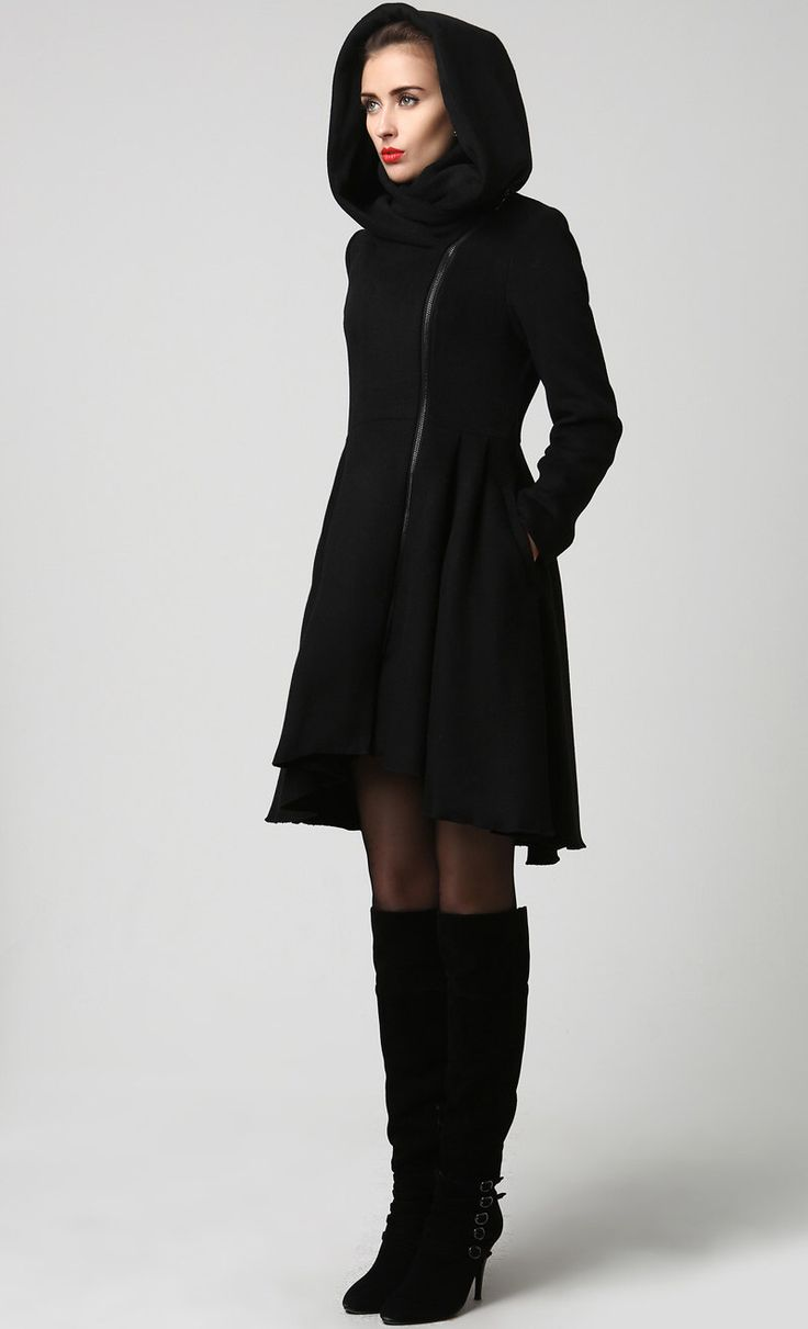 Black coats for women