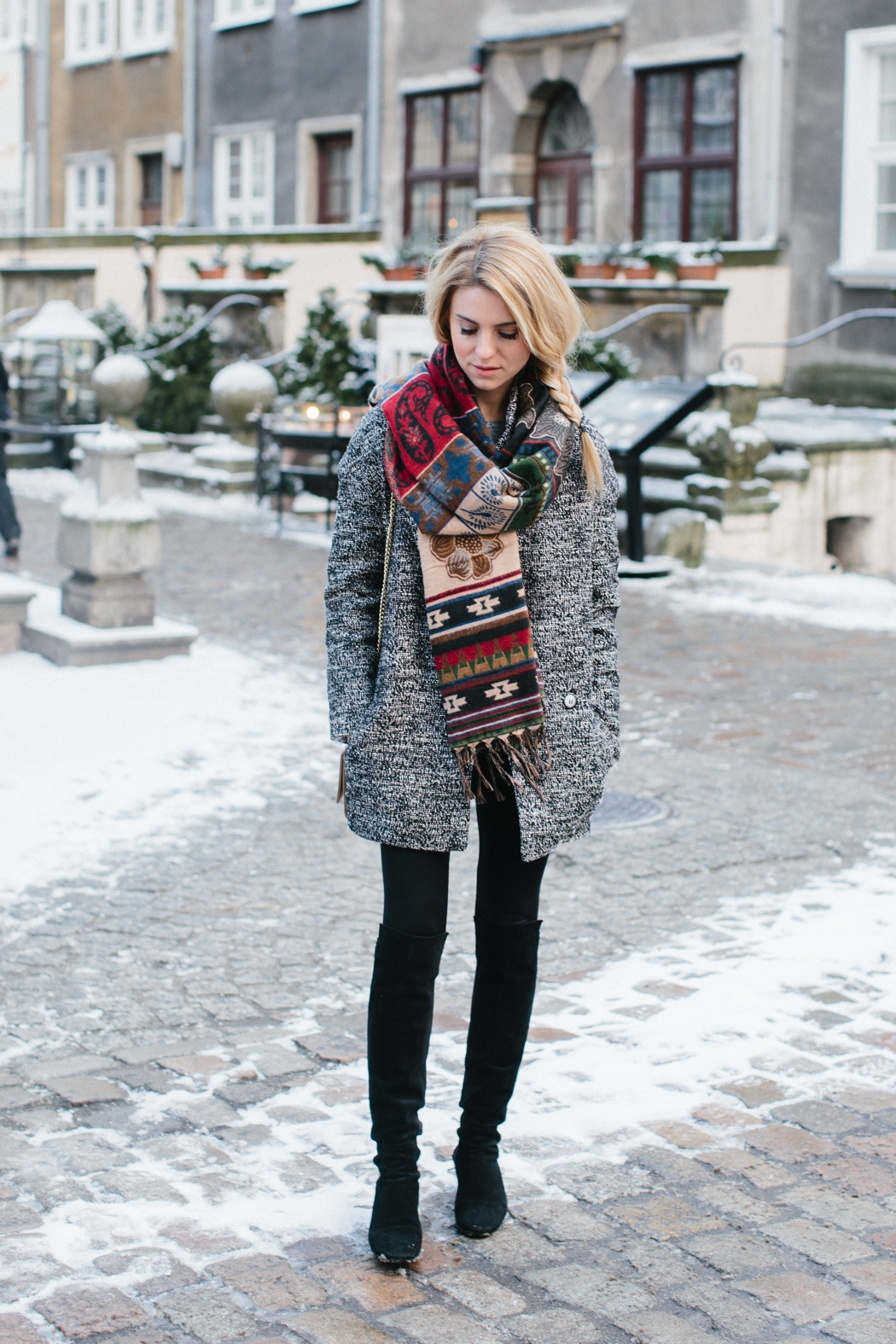 winter outfits oversized scarves will always make a fantastic addition to your winter  outfit! katarzyna tusk wnudwnk