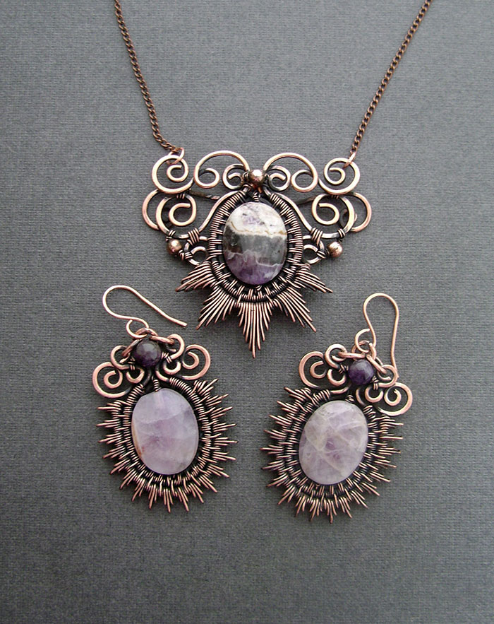 wire wrapped jewelry wire-wrapping-jewelry-self-taught-artist-anastasiya-ivanova- nymploz