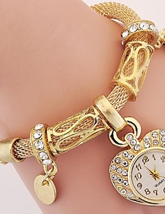 womenu0027s kidsu0027 fashion watch wrist watch bracelet watch quartz rhinestone  imitation diamond alloy bandvintage muzpcue