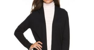 womens black cardigan long sleeve sweaters - tops, clothing | kohlu0027s ddjjalv