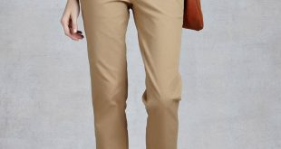 womens chinos new las fashion chinos pants ds120189 khaki ejfmryv