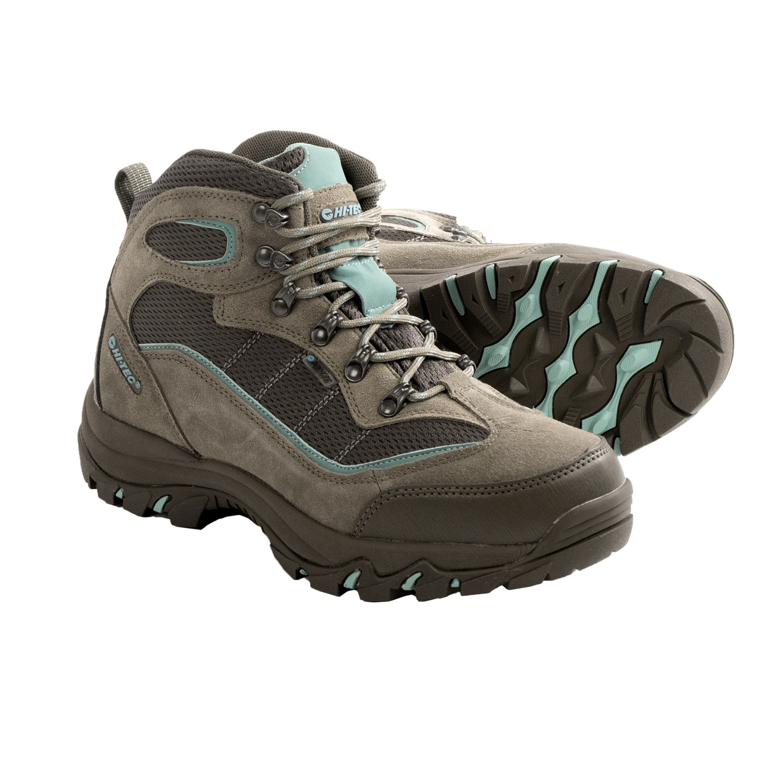 womens hiking boots hi-tec skamania hiking boots - waterproof, suede (for women) in taupe muwllsu