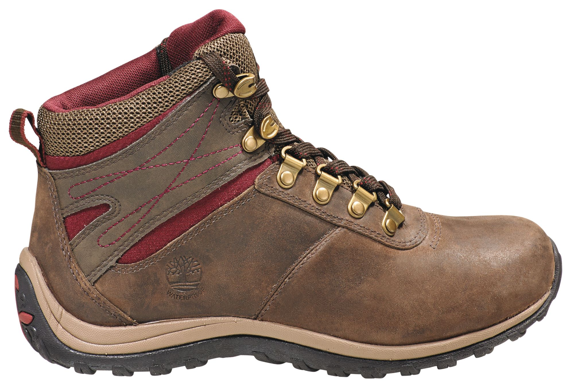 Brilliant Timberland White Ledge Waterproof Mid Hiking Boots - Womens