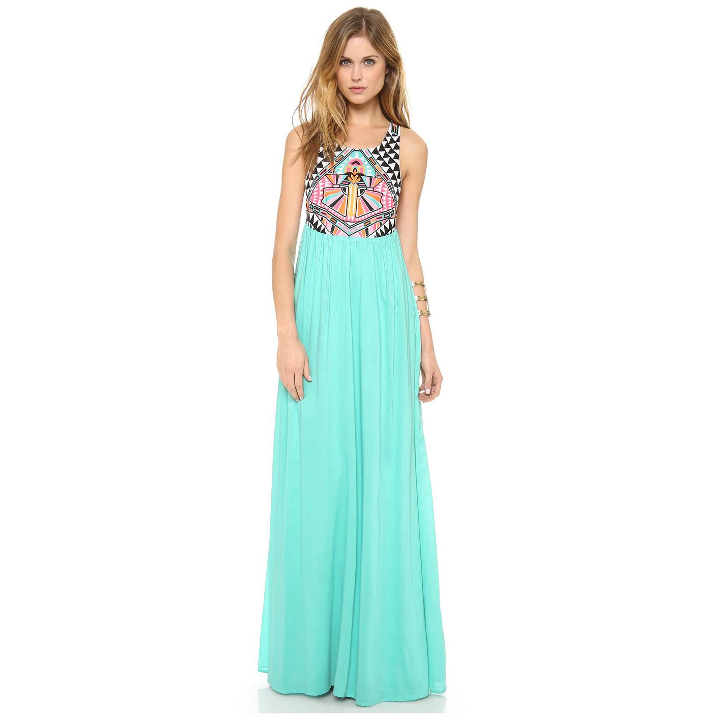 womens maxi dresses with sleeves photo - 1 ksgidbf