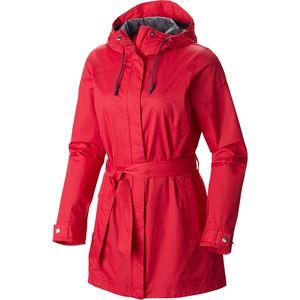 womens rain coat columbia pardon my trench rain jacket - womenu0027s cftfemo