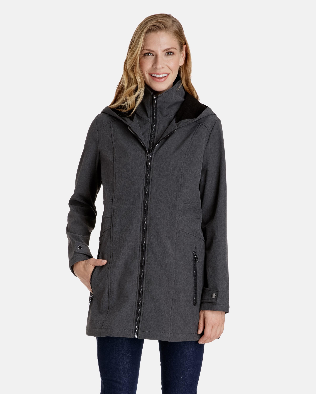 womens rain coat skylar softshell hooded rain jacket cntulgw
