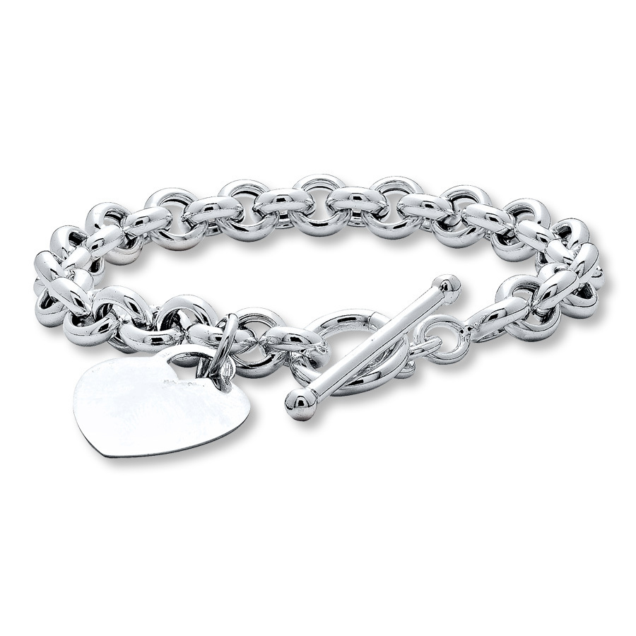 Always look charming with womens silver bracelets