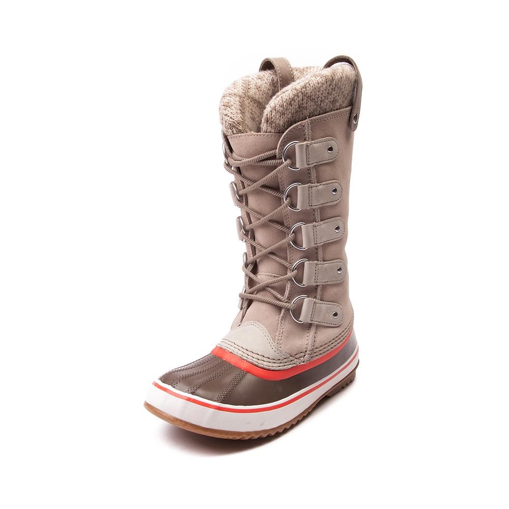 womens sorel boots womens sorel joan of arctic knit boot uwkvqni