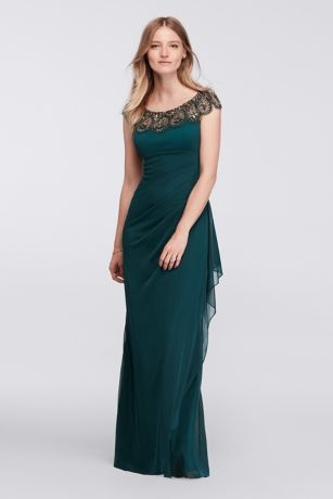 xscape dresses long sheath wedding dress - xscape sqfuwxc