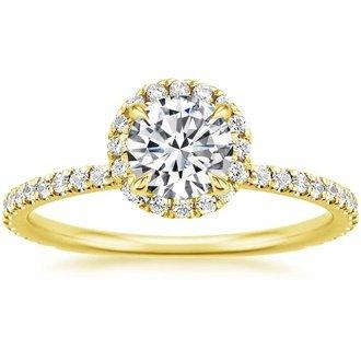 yellow gold engagement rings 18k yellow gold bjcecky