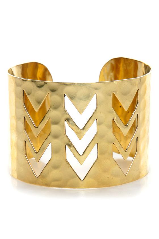 zad chevron crossing gold cuff bracelet oaqlpry