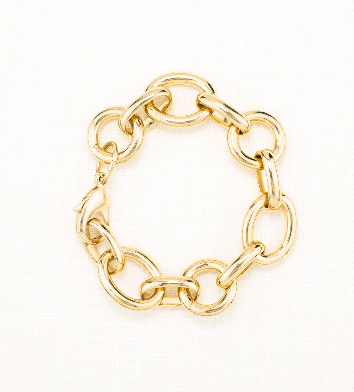 ... chain bracelet. gold_chunky_chain_bracelet ifcewjg
