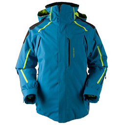 ... colorswatch30 obermeyer charger tall mens insulated ski jacket, high  seas, 256 nifyisc