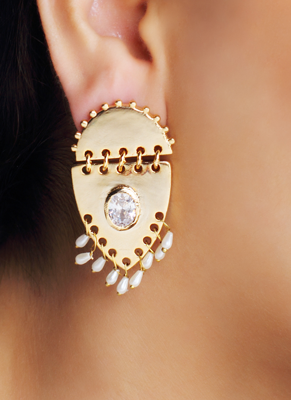 ... indian accessories designers - urban dhani - indian designer jewellery  - designer earrings aflsikz