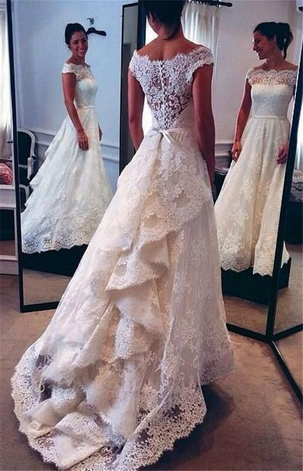 20 vintage wedding dresses with amazing details ffslzwr