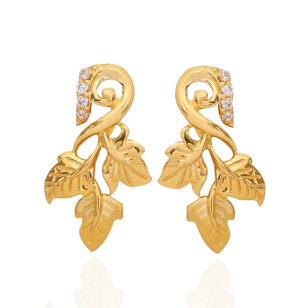 The Beauty Of Gold Earrings
