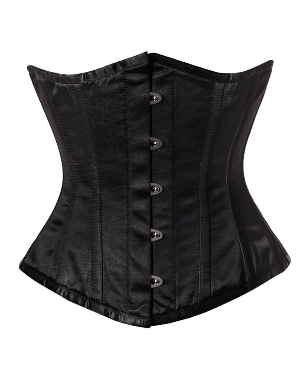 aislinn black underbust corset skqdhko