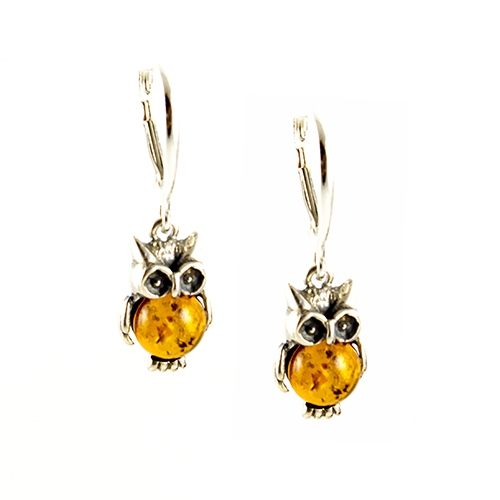 amber earrings charming sterling silver owl earrings with green amber eyes and honey  tummyu0027s. OXHIPXX