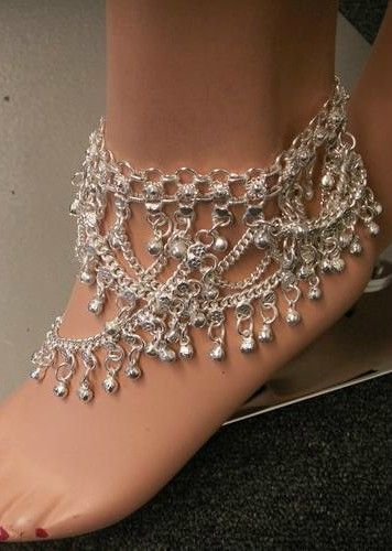 ankle jewelry i wanna have a wedding on the beach and wear these instead of shoes. ankle MAQVRZS