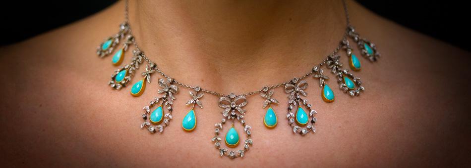 antique necklaces antique u0026 vintage necklaces TUPYKLF