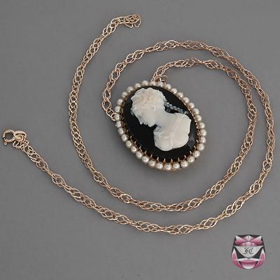 antique necklaces ... antique victorian hardstone necklace TSFGSZE
