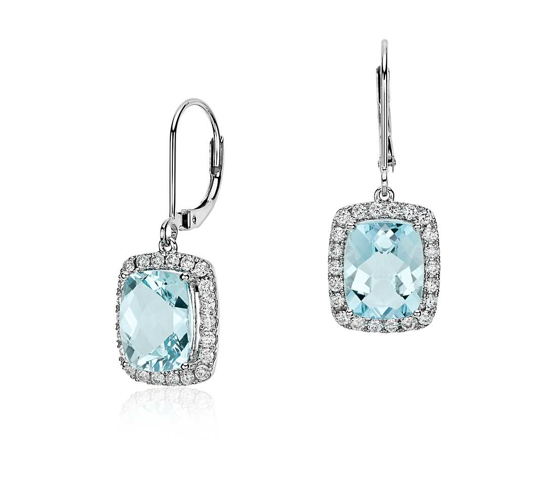 Have a Good Pair of Aquamarine earrings