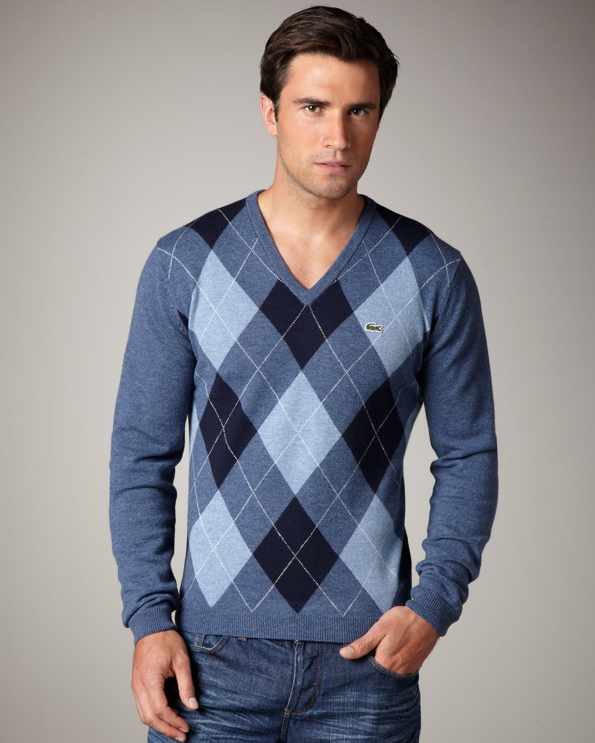 How to look good in the argyle sweater