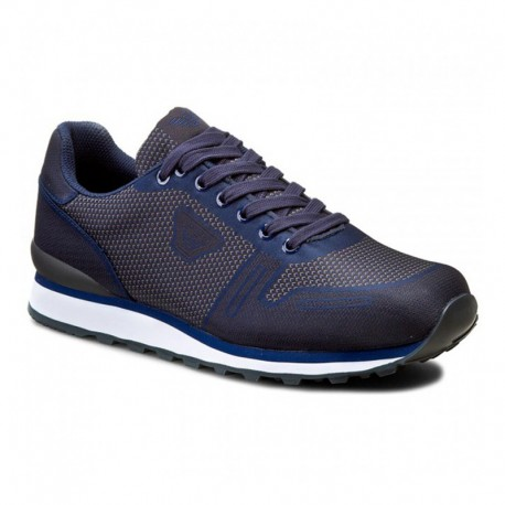 armani sneakers menu0027s shoes armani jeans sneakers canvas blue sfucnru